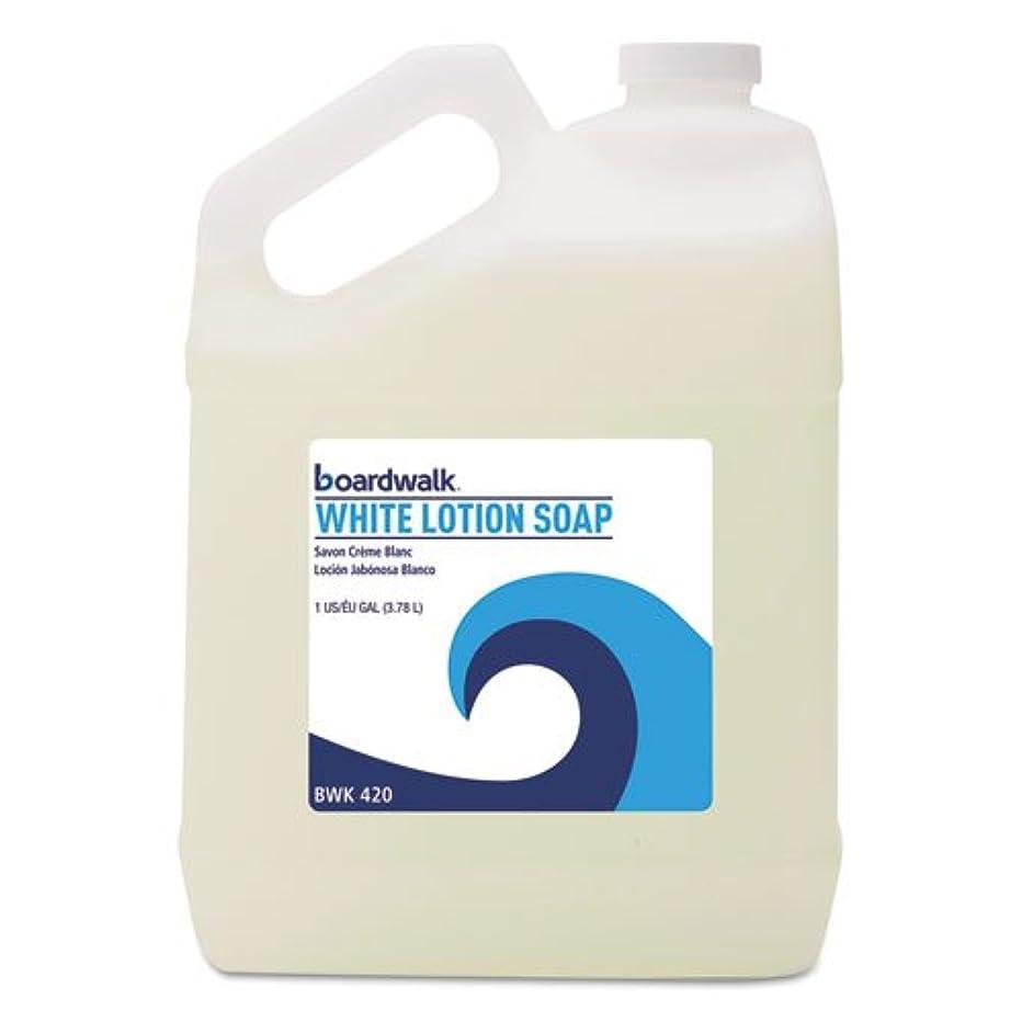 回転する燃やす対抗ボードウォーク420ea Mild Cleansing Lotion Soap , Pleasant香り、液体、1ガロンボトル