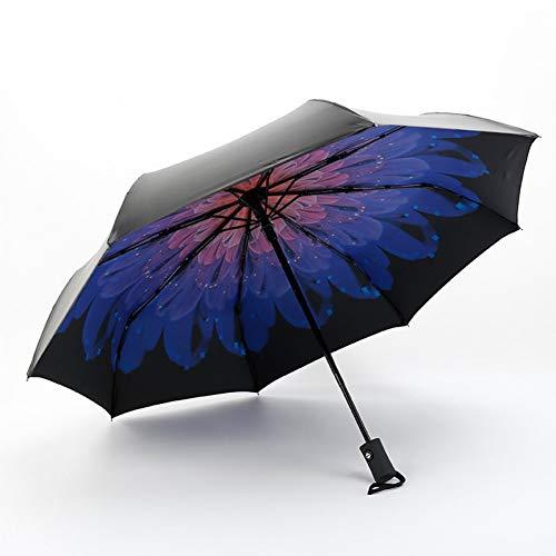 GJYWHF Parasol Anti-UV pour Dames Femmes Fille Parapluies Multicolore