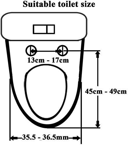 DBSBH Toilettensitz-Doppel-Toilettensitz für Kinder und Erwachsene mit doppeltem Verwendungszweck V-förmiger, leiser, langsamer GeschwindigkeitsabfallDuale Befestigungsbeschläge