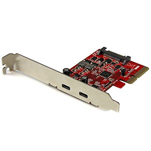 Carte contrôleur PCI Express à 2 ports USB 3.1 (10 Gb/s) - Adaptateur PCIe USB Type-C - 2x USB-C