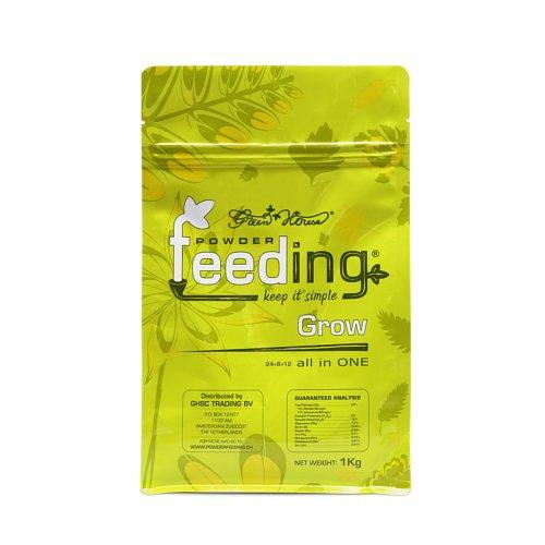 Powder Feeding PFCH Green House Grow 1Kg, Verde, 15x18x7 cm
