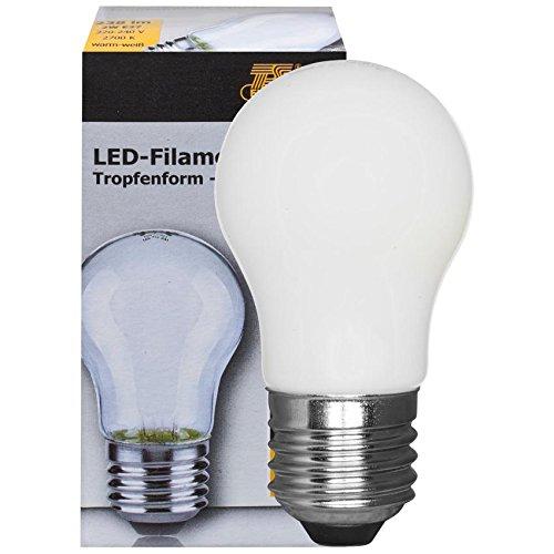 TELESOUND LED-Fadenlampe E27/2W matt 238 lm