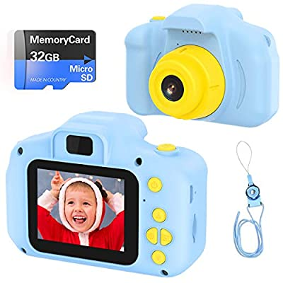 VATENIC Kids Toys for 3-10 Year Old Boys Girls, Kids Camera 1080P 2inch HD Children Digital Cameras for Girls Best Birthday Toys,Toddler Camera Gift for 3-9 Year Old Boy (with 32G SD Card) from VATENIC