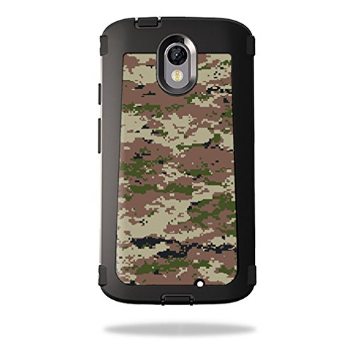 MightySkins Skin Compatible with OtterBox Defender Motorola Droid Turbo 2 Case wrap Cover Sticker Skins Urban Camo