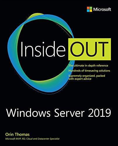 Windows Server 2019 Inside Out (English Edition)
