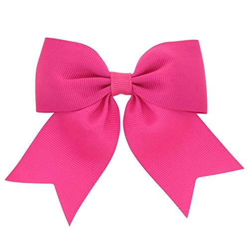 Mingi 1 STÜCKE Band Bogen Clip Elastische Haarbänder Für Mädchen Haarnadeln Haargummi Kinder Haarschmuck Für Frauen, Farbe 14, KEIN Clip Nur Bogen
