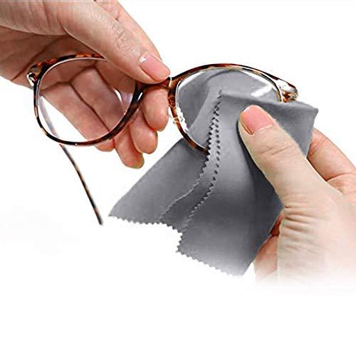 Antibeschlag Microfaser Brillenputztuch für Brillen | Anti Nebel fur Brillengläsern | Bis zu 250 Mal Wiederverwendbar | Bis zu 12 Std. Sofort Protect (1pc)