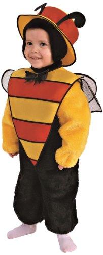 Rio - 103369/tg02 - Costume Enfant - La Petite Guêpe En Peluche - 3-4 Ans