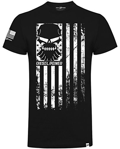 DPG Diesel Power Gear T-Shirt Rank and File Black-L