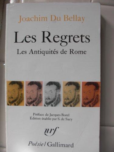 'Les Regrets / Les Antiquites De Rome by Du Bellay ( Author ) ON Jan-01-1978, Paperback'
