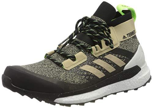Adidas Terrex Free Hiker, Scarpe da Passeggio Uomo, Savann/CBLACK/SIGGNR, 45 1/3 EU