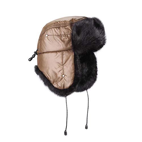 OBC Only-Beautiful-Couture -  Cappello aviatore - Donna grigio Grau Medium