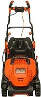 بلاك + ديكر 1600 واط 38 سم مع مقبض دراجة للحديقة والحديقة، برتقالي/اسود - BEMW471BH-GB