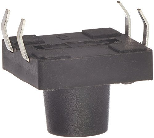 Panel PCB DealMux 4P pulsador momentáneo botón de interruptor táctil, 12 x 12 x 9 mm