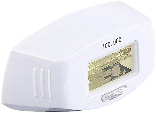 Sichler Beauty Zubehör zu IPL-Enthaarungs-Maschine: Licht-Aufsatz für Haarentferner IPL-130.lcd, 100.000 Impulse (IPL-Haarentferner mit Blitzlampen)