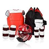 JXS-Outdoor Karate de la Entrepierna de Taekwondo Conjunto de protección 5Pcs / Set -...