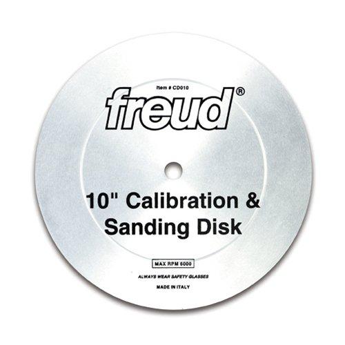 FREUD 10 In. Calibration & Sanding D