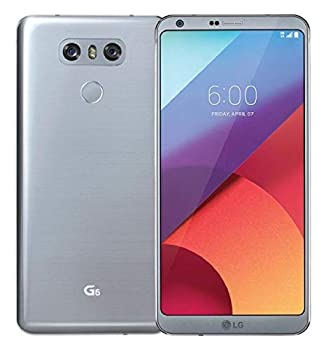 LG G6 VS988 32GB Verizon Phone w/Dual 13 MP Camera - Ice Platinum