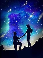 5DDIYダイヤモンド絵画星空の趣味と工芸品ダイヤモンド刺繡風景モザイク販売家の装飾-8679_Square_50X70cm_