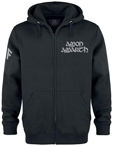Amon Amarth Ship Männer Kapuzenjacke schwarz M, 70% Baumwolle, 30% Polyester, Band-Merch, Bands