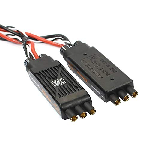 Hobbywing XRotor Pro 40A ESC No BEC 3S-6S Lipo Brushless ESC DEO for RC Drone Multi-Axle Copter (4 Pcs,Version B Without Wire)