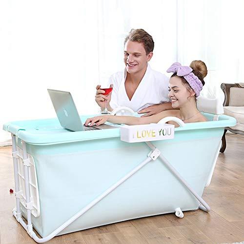 Chicti Opvouwbare badkuip voor volwassenen, groot met afneembare overtrek, kinderspeelgoed, buitenbadkuipen om in te weken