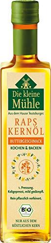 Teutoburger Ölmühle Bio Kl. Mühle Raps-Kernöl BUTTERGESCHMACK 500ml (1 x 500 ml)