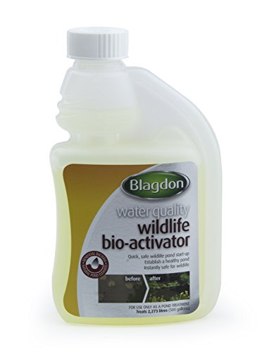 Blagdon Wildlife Pond Bio-Activator Traitement des Eaux de Bassin 250 ML
