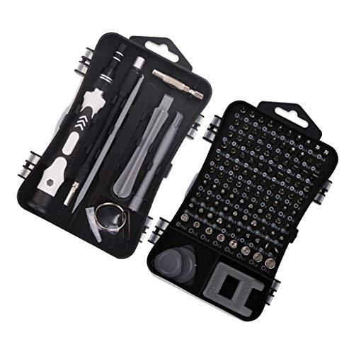 oshhni Juego de Destornilladores 112 en 1 Destornillador para Herramienta de Tableta de Teléfono