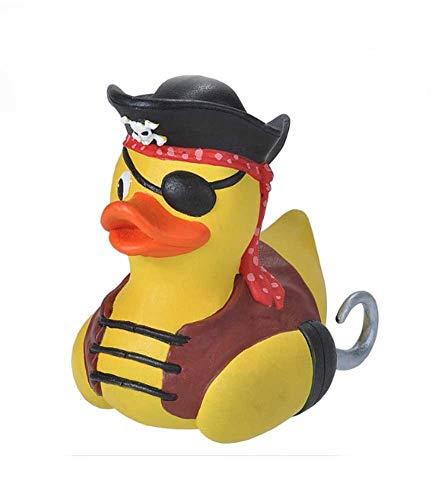 Wild Republic Rubber Duck, Patos de Goma, Pirata, Regalos Para Bebé, Juguetes Para la Bañera, Regalo Perfecto Para Niños y Adultos, 10 Cm