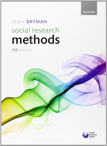 Social Research Methods, 4th Edition