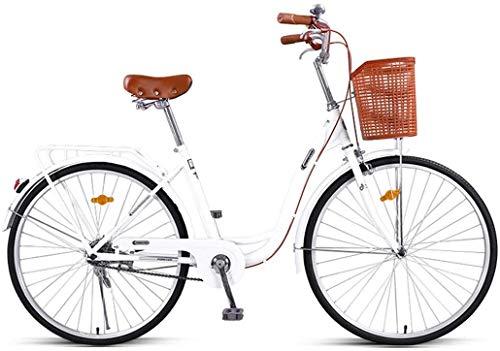 FEE-ZC Universal City Bike 26 Zoll Single Speed Pendler Fahrrad Leichtgewicht für Erwachsene