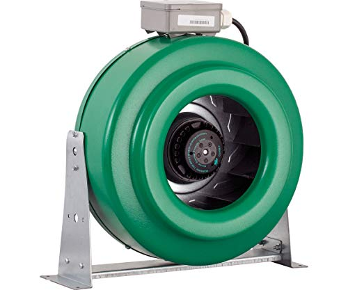 Hydrofarm ACDF10 Active Air 760-CFM in-Line, 10-Inch Fan, 10 Inch, Green