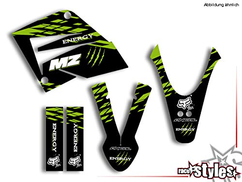 Stickers MZ MUZ RT 125 SX SM FULLKIT Dekor Aufkleber - Decals