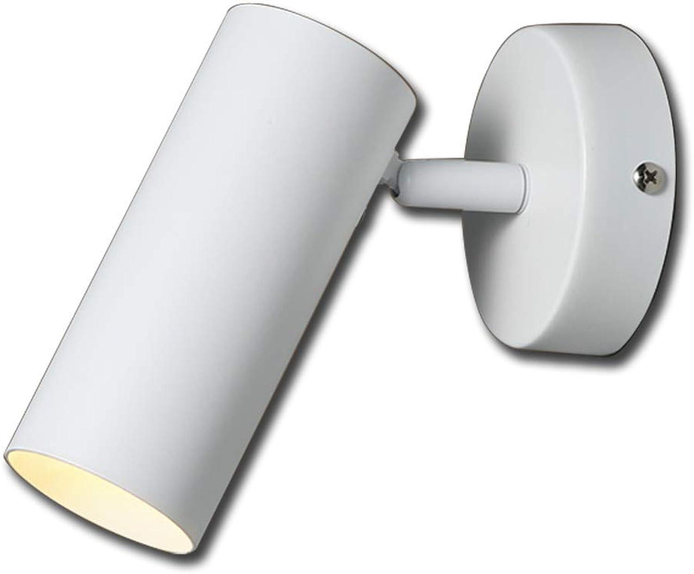 BYDXZ Nachttischlampe Wandleuchte Schlafzimmer Einfach Modern Treppenhaus Zimmer Wand Shop Schwarz-Wei-Scheinwerfer Scheinwerfer Deckenfleck Deckenfleck Innenlicht Warmes Licht