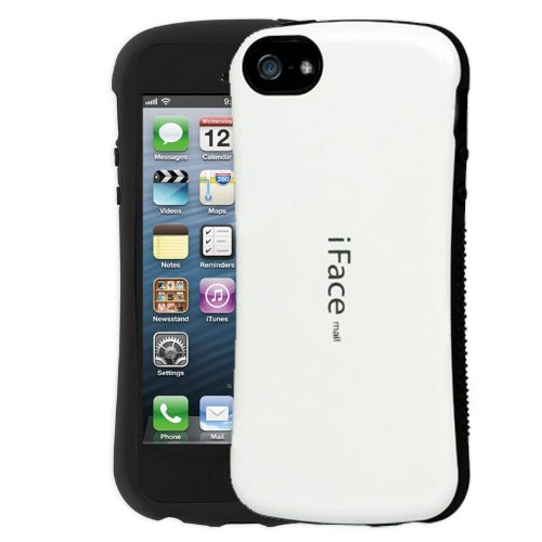 iFace Apple iPhone 5/5S Case Generic iFace Mall PC Material Protective Shell Case Cover - White color on Orders $35 and Over