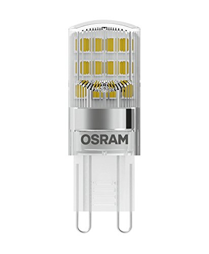 Osram LEDBASEPIN20 CL 1,9W/827 230VG9BLI3OSRAM Lampada 1.9 W, Bianco, 3 Lamp, 3 unità