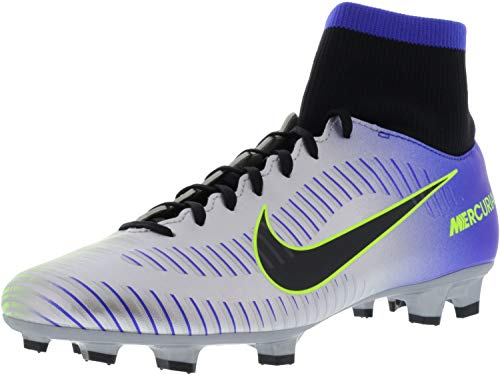 Mercurial Victory VI DF NJR FG Football Boots - RacerBlue/BlackChrome