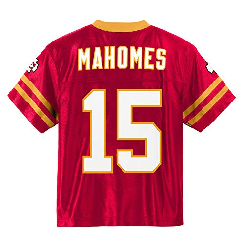 Patrick Mahomes Kansas City Chiefs #15 Red Youth Player Home Jersey (X-Large 18/20)