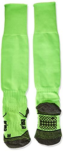 Erima Kinder Fußball Stutzenstrumpf, Green Gecko, 33