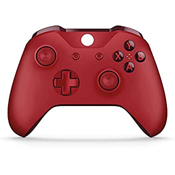 Usergaing Xbox Controller Wireless Fits for Xbox Series X/S/Xbox One/Xbox One S/One X/One Elite/Windows 7/8/10/ Wireless PC Gamepad with Audio Jack-Red
