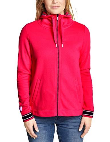 Street One Damen 210987 Sweatjacke, Dark Blossom pink, (Herstellergröße:40)