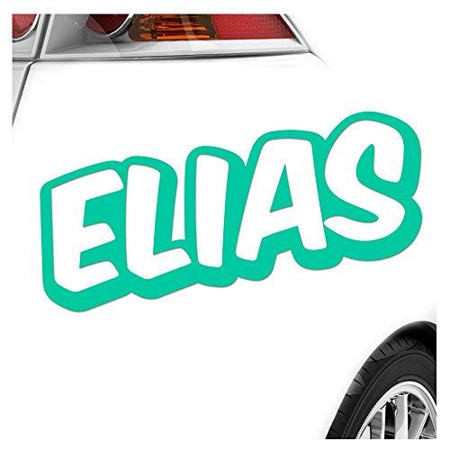 Kiwistar Elias Autocollant pour garçon 25 Couleurs Fluo Mat