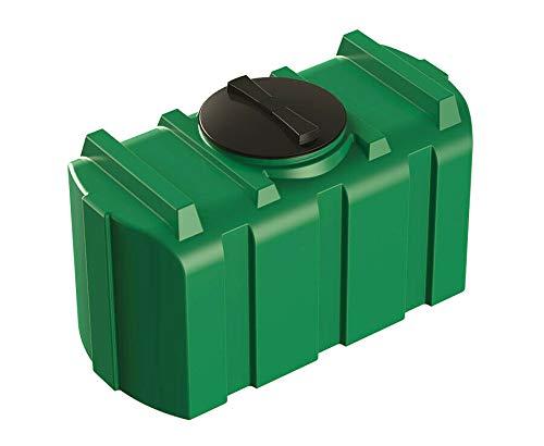 Depósito de agua de 200 l, verde, depósito de agua potable, depósito de agua fresca, depósito de...