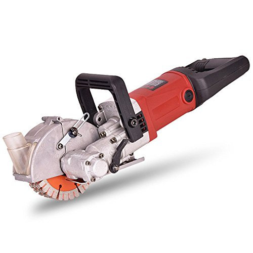 4000W Electric Wall Groove Cutting Machine Electric Brick Wall Chaser Concrete Cutter Notcher Groover Wall Slotting machine 40mm - 220V