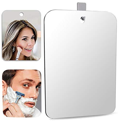 Espejo Grande de Maquillaje espejo baño antivaho Espejo de ducha afeitado Espejos para afeitado Espejos para baño espejo adhesivo