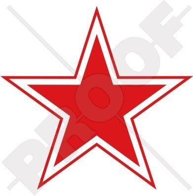 RUSSLAND Russische Luftwaffe USSR Sowjetische Typ 3 Roter Stern Flugzeug Rondelle 100mm Auto & Motorrad Aufkleber, Vinyl Sticker