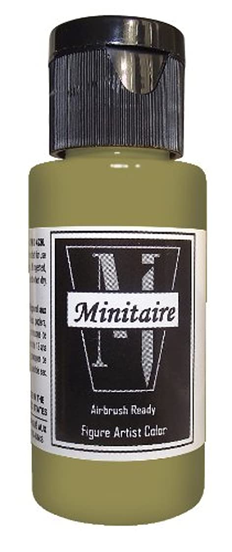 Badger Air-Brush Company 2-Ounce Bottle Miniature Airbrush Ready Water Based Acrylic Paint, Pestilence Flesh
