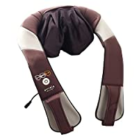 ALINCO(アルインコ) 首マッサージャー もみたいむ コードレス 充電式 (マッサージ/癒し/リラックス/もみ/肩こり/腰痛) ブラウン MCR8818T