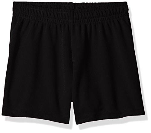 Augusta Sportswear Girls Wicking Mesh Short, Black, Large, 961